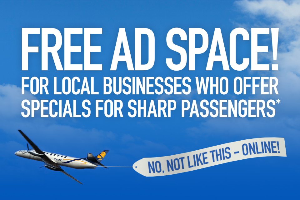 Free ad space!